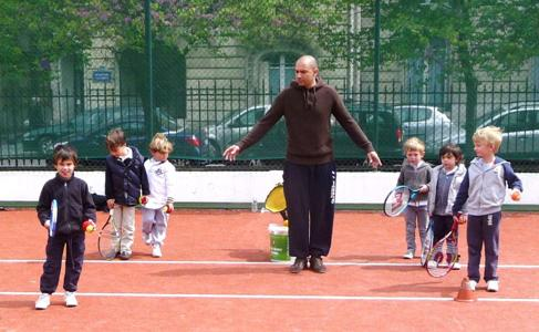 ECOLE TENNIS PARIS